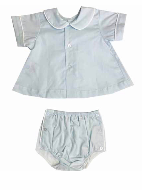Lullaby Set Light Blue Diaper Set