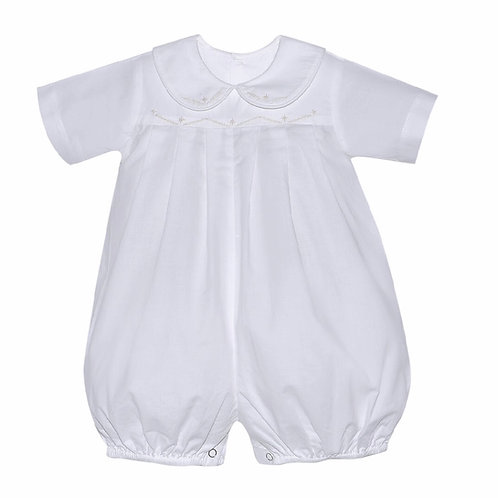 Lullaby Set Embroidered Bubble-Winter White