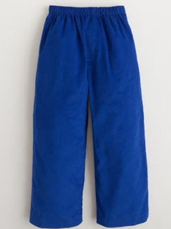 Little English Royal Cord Basic Pants