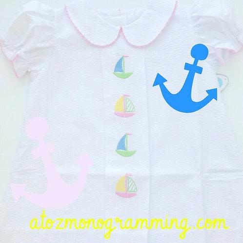 Lullaby Set Sailboat Dress