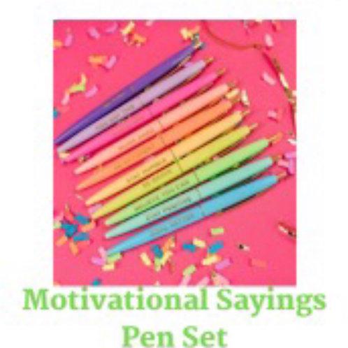 Motivational Pen Set