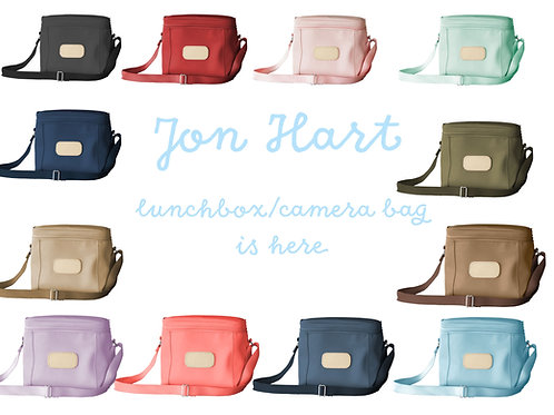 Jon Hart Frio (Lunch Box/Camera Bag)