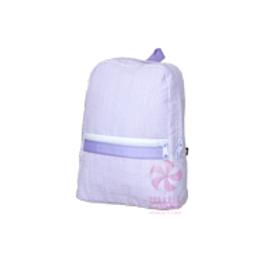 Lavender Seersucker Small/Preschool Backpack by Mint
