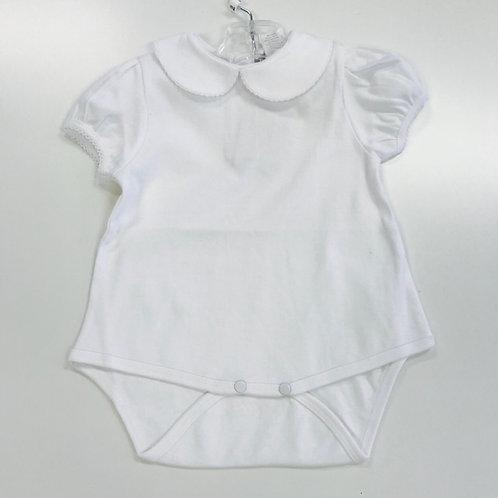 Petit Ami Girls Knit White Shirt/Onesie