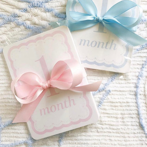 Love Lucy Monthly Baby Signs