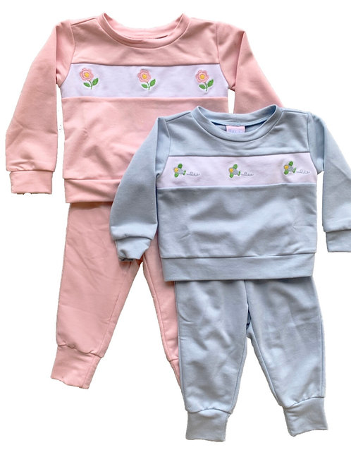 Lullaby Set Airplane Playsuit