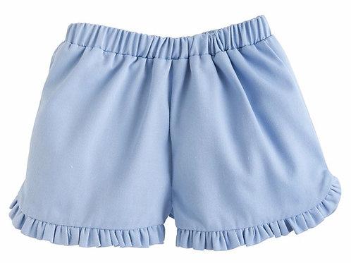 Little English Blue Tulip Shorts size 5