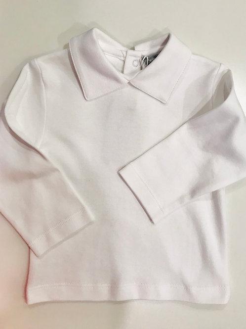 Petit Ami Boy Peter Pan Knit Shirt L/S