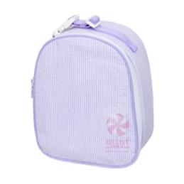 Lavender Seersucker Gumdrop Lunchbox by Mint