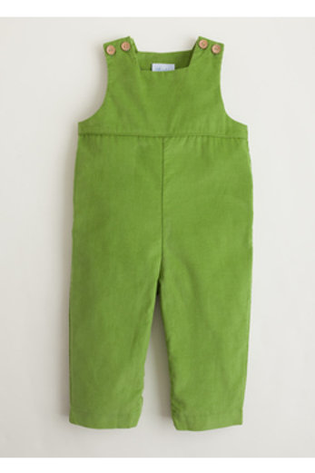 Little English Green Cord Overall/Longall