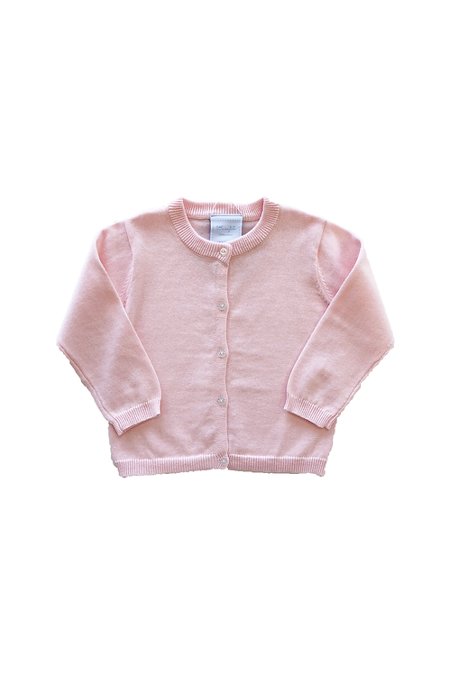 Little English Pink Cardigan 4t