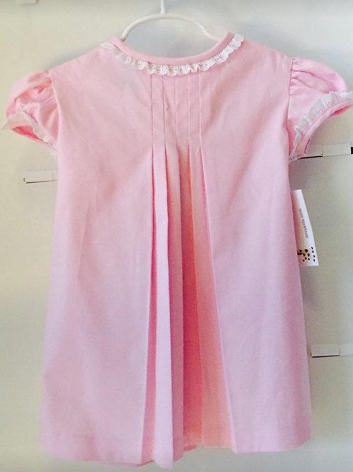 Anvy Pink Louisa Dress  4t, 5