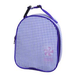 Purple Gingham Gumdrop Lunchbox