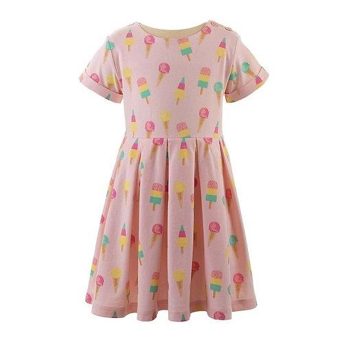 Rachel Riley Ice Cream Jersey Dress 6,7
