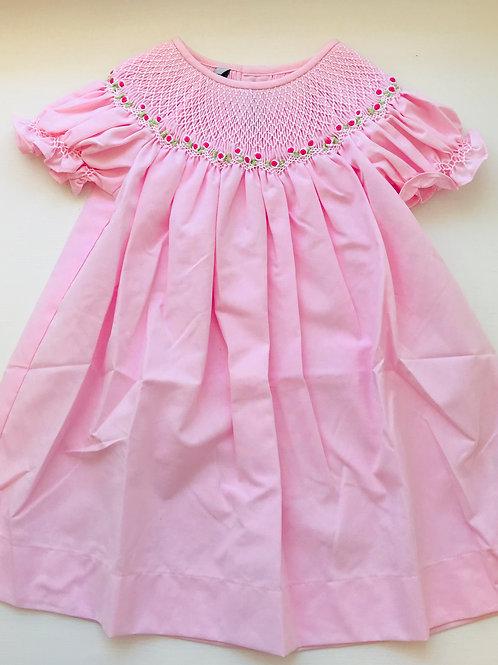 Sweet Dreams Pink Smocked Dress