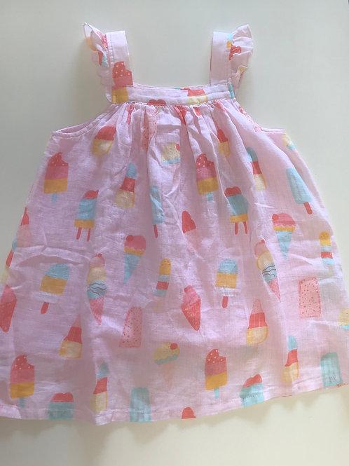 Angel Dear Popsicle Muslin Dress