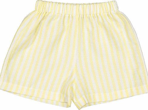 Sal & Pimenta Yellow Stripe Shorts