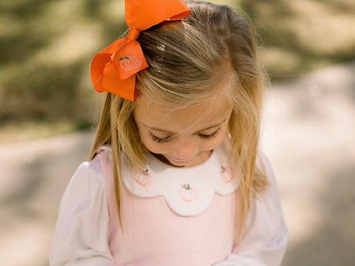 Lullaby Set Orange Pumpkin Bow