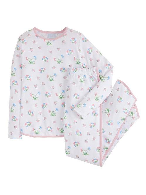 Little English Womans Chelsea Garden Pima Pajamas