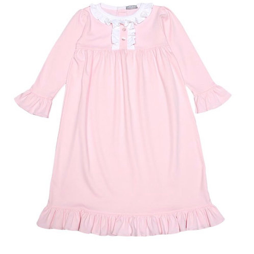 Baby Bliss Pima Pink Night Gown