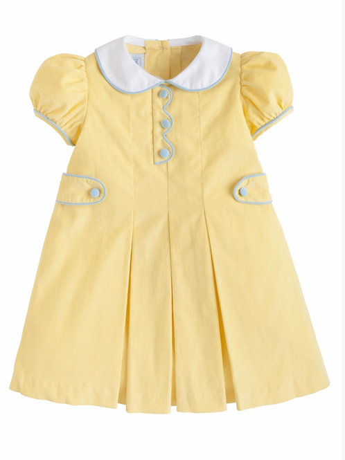Little English Yellow Lucy Dress