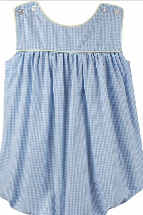 Lullaby Set Blue with Yellow Gingham Charming Bubble