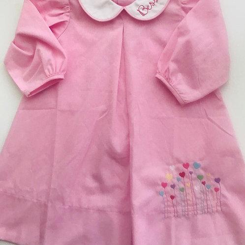 Lullaby Set Pink Gingham Peter Pan Dress