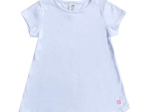 SET Athleisure White Bridget Knit Shirt