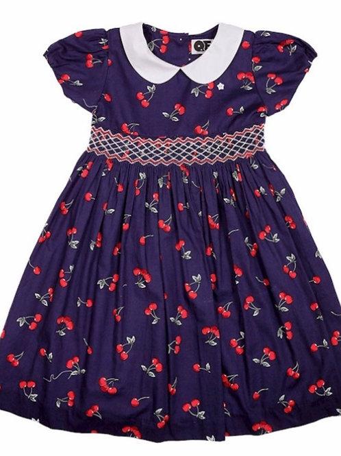 QE Myla Cherry  Dress size 1/2- 5/6