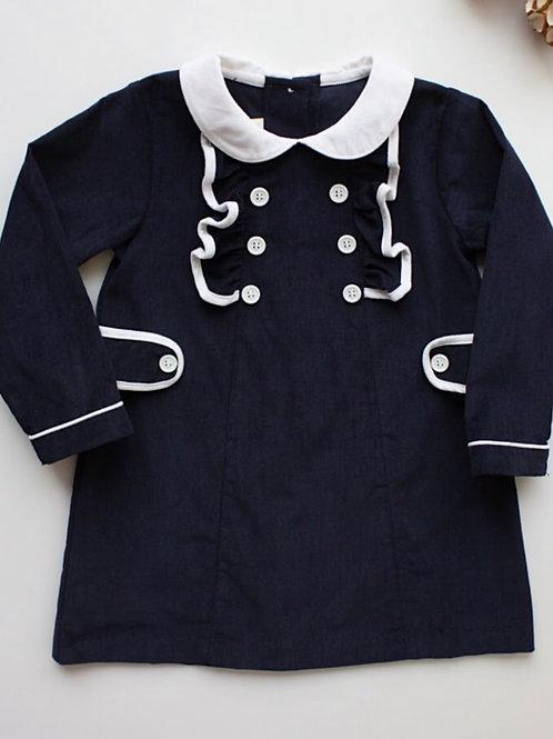Navy Davant Dress