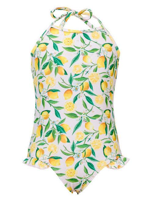 Snapper Rock Lemon One-Piece Swimsuit