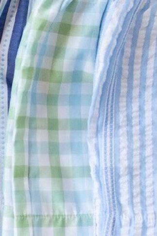 Peggy Green Chapel Hill Plaid Boy Shorts