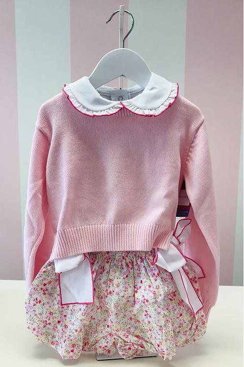 Set Athleisure Pink Stella Sweater 4/6-14/16