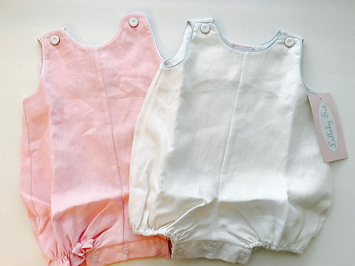Lullaby Set Linen Bubble pink 9mo