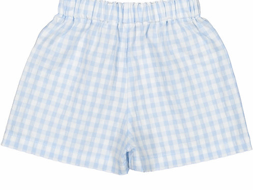 Sal & Pimenta Bluebell Gingham Shorts