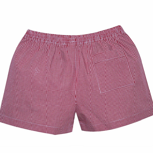 Lullaby Set Red Gingham Shorts