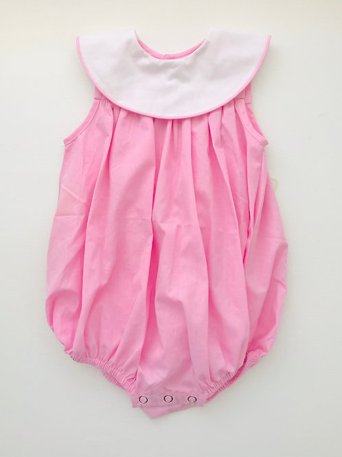 Baby Sen Pink Bubble with around Collar 3,24 mo