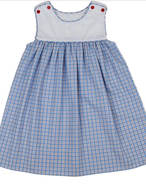 Lullaby Set Anchors Away Plaid Dress