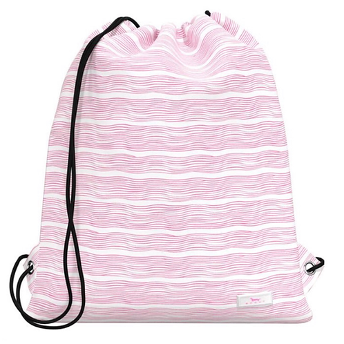 Scout old school bag in pink wave