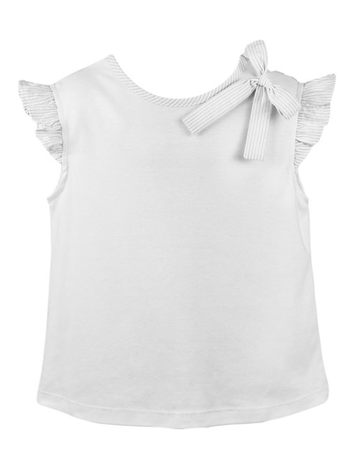 Lullaby Set Angel Blouse with White Trim