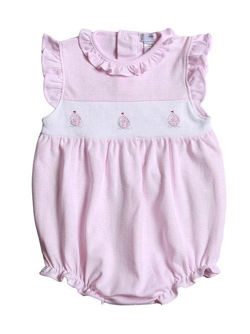 Baby Bliss Pink Pima Sailboat Bubble