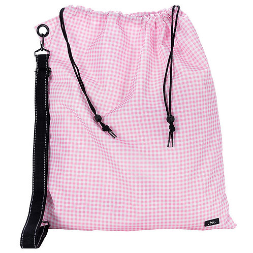Scout Laundry Bag- pink stripe