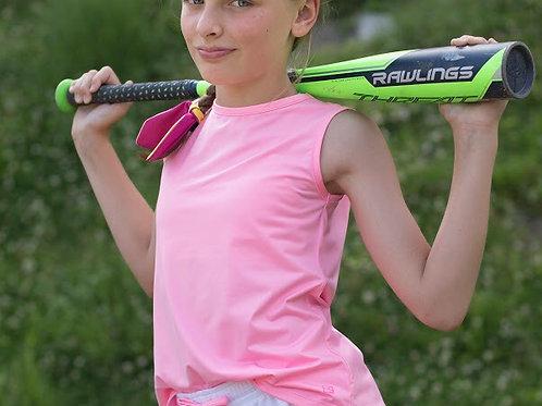 SET Athleisure Pink Knit Tank