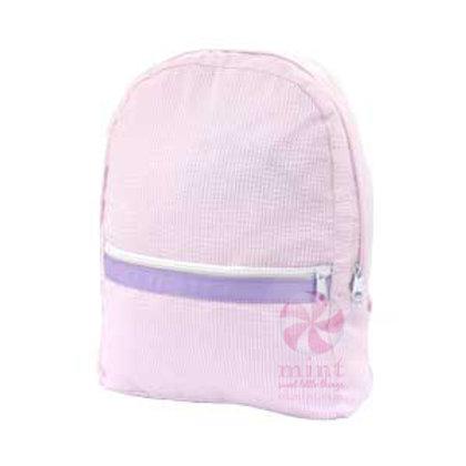 Princess Seersucker Medium Backpack by Mint