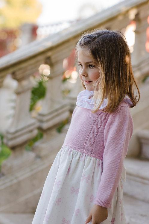 Sal & Pimenta Pink Bows Dress