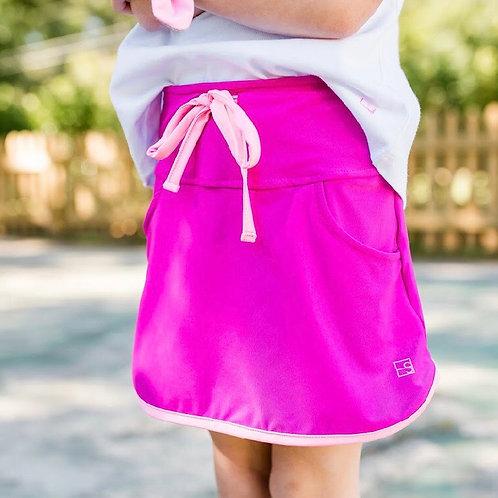 SET Athleisure Hot Pink and Pink Tennis Skort -large