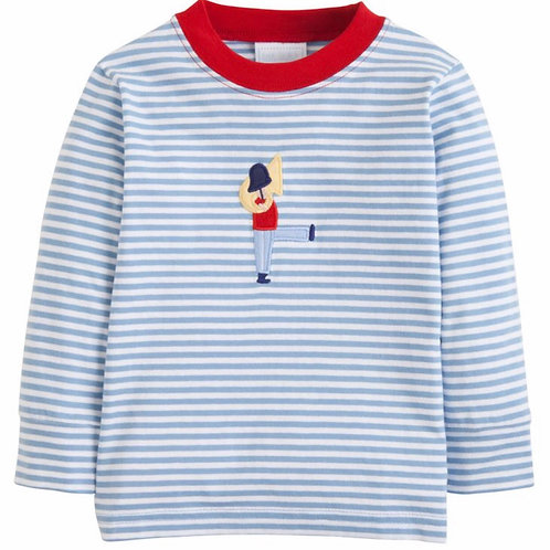 Little English Applique Toy Soldier Tee