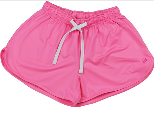 Set Athleisure Pink and White Emily Shorts