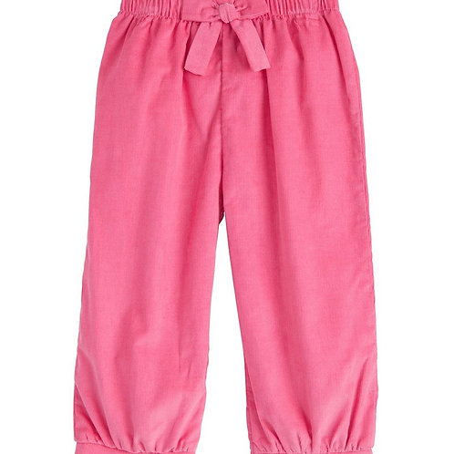 Little English Hot Pink Bow Cord Banded Pants 12, 24 mo