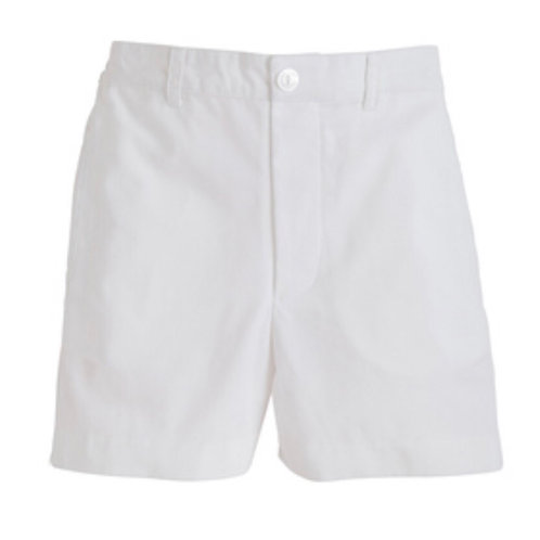 Little English White Boat Shorts